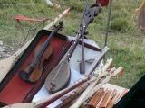 Naziv slike:Stradivarijeva violina i djeda Marke gusle