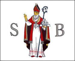 Zastava Dubrova�ke republike - Sveti Vlaho (Sveti Bla�)